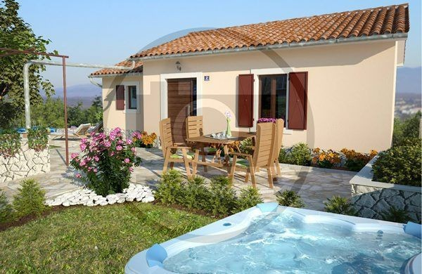 Fully equipped holiday house for 5 people in Istria near Labin with jacuzzi 5 km from the beach