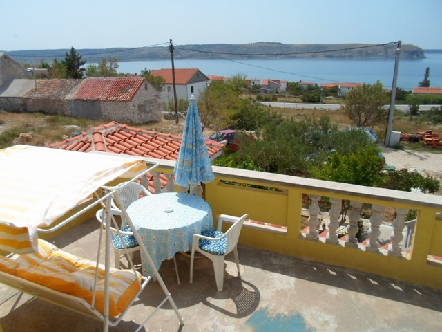 Holiday house in Rtina Miocici in Rtina Miocici in Dalmatia for 2 - 3 people with wonderful sea view